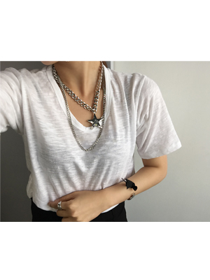 스타 necklace